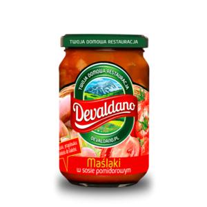 Maślaki wsosie pomidorowym