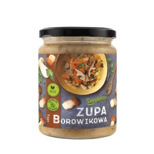 Zupa borowikowa