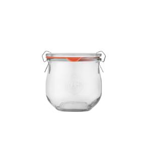 Szklany słoik typu WECK 370 ml